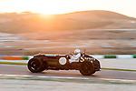Vintage racing car, Bentley Pacey Hassan, Portimao, Algarve, motor racing circuit, sunset, 24 hour race