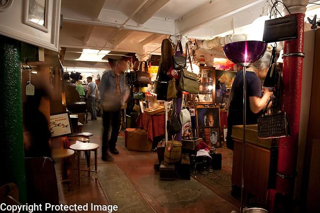 Backyard Market, Sunday Up Market; Brick Lane; London; England; UK