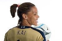 Natasha Kai. U.S. Women's National Team portrait photoshoot. June 8, 2007 in Carson, CA.