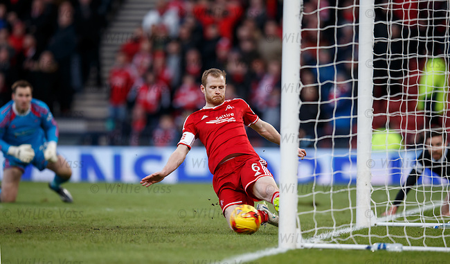 Mark Reynolds clears off the line