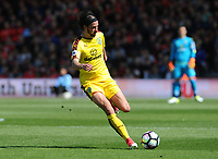 Burnley's George Boyd in action during todays match  <br /> <br /> Photographer Ian Cook/CameraSport<br /> <br /> The Premier League - Bournemouth v Burnley - Saturday 13th May 2017 - Vitality Stadium - Bournemouth<br /> <br /> World Copyright &copy; 2017 CameraSport. All rights reserved. 43 Linden Ave. Countesthorpe. Leicester. England. LE8 5PG - Tel: +44 (0) 116 277 4147 - admin@camerasport.com - www.camerasport.com