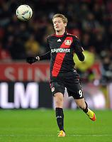 FUSSBALL   1. BUNDESLIGA   SAISON 2011/2012    15. SPIELTAG Bayer 04 Leverkusen - 1899 Hoffenheim                  02.12.2011 Andre Schuerrle (Bayer 04 Leverkusen) Einzelaktion am Ball