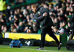 Celtic v St Johnstone....26.12.10  .Neil Lennon throws his water bottle in frustration.Picture by Graeme Hart..Copyright Perthshire Picture Agency.Tel: 01738 623350  Mobile: 07990 594431