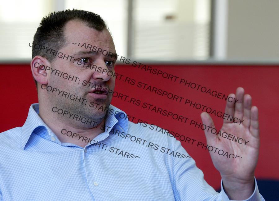 Kosarka.Dejan Mijatovic, trener.Beograd, 03.10.208..foto: Srdjan Stevanovic