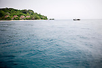 Approaching Nikoi Island, in the Riau Archipelago, of Indonesia, on Sunday, April 18, 2010. The private island resort is owned by a group expatriates from Singapore and the United States.