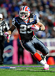 11 October 2009: Buffalo Bills' running back Marshawn Lynch (23) rushes for short yardage in the second quarter against the Cleveland Browns at Ralph Wilson Stadium in Orchard Park, New York. The Browns defeated the Bills 6-3 for Cleveland's first win of the season...Mandatory Photo Credit: Ed Wolfstein Photo