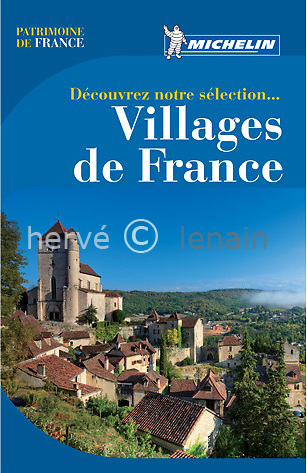couverture guide Michelin Villages de France