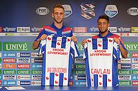 VOETBAL: HEERENVEEN: Abe Lenstra Stadion 30-06-2015, SC Heerenveen, nieuwe spelers Branco van den Boomen en Caner Cavlan, ©foto Martin de Jong
