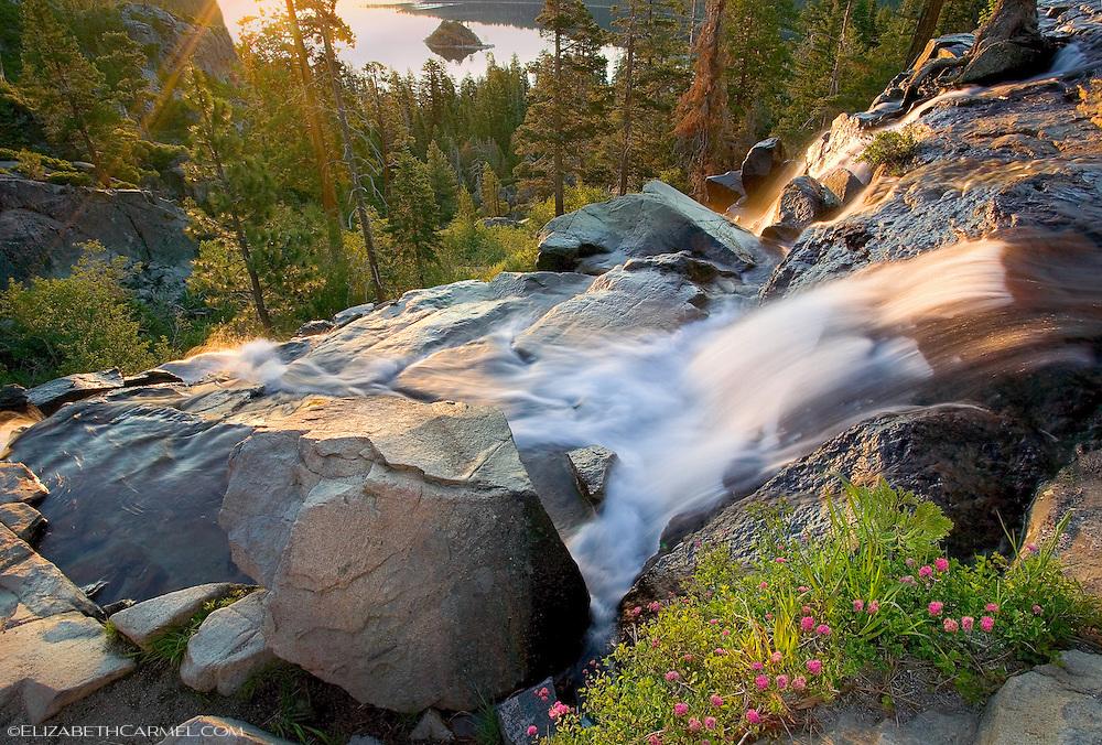 Sunrise on Eagle Falls