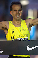 Juan Antonio Cuadrillero winner of San Silvestre popular race