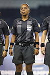 16 October 2014: Fourth official Tatiana Guzman (NCA). The Mexico Women's National Team played the Costa Rica Women's National Team at Sporting Park in Kansas City, Kansas in a 2014 CONCACAF Women's Championship Group B game, which serves as a qualifying tournament for the 2015 FIFA Women's World Cup in Canada. Costa Rica won the game 1-0.