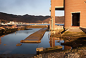 Scenes of the devastation caused by the earthquake and tsunami of March 11th 2001 at the Onagawa Maritime Museumi, in Onagawa, near Ishinomaki, Japan, on Friday 17th February 2012.