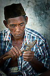 Wood carving provides alternative incomeKomodo Village, Komodo National Park