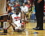 "Ole Miss' Reginald Buckner (23) vs. Rutgers at the C.M. ""Tad"" Smith Coliseum in Oxford, Miss. on Saturday, December 1, 2012. (AP Photo/Oxford Eagle, Bruce Newman).."
