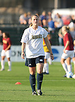 07 December 2007: Notre Dame's Brittany Bock. The Florida State Seminoles defeated the University of Notre Dame Fighting Irish played 3-2 at the Aggie Soccer Stadium in College Station, Texas in a NCAA Division I Womens College Cup semifinal game.