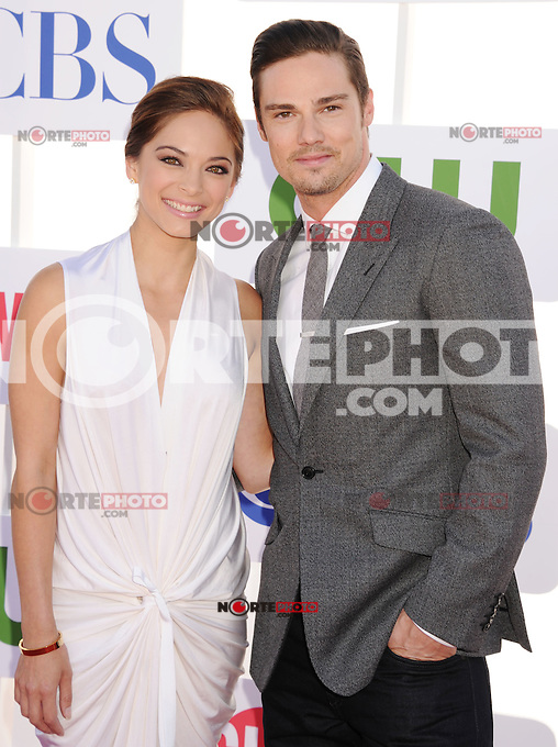 BEVERLY HILLS, CA - JULY 29: Kristin Kreuk and Jay Ryan arrive at the CBS, Showtime and The CW 2012 TCA summer tour party at 9900 Wilshire Blvd on July 29, 2012 in Beverly Hills, California. /NortePhoto.com<br />