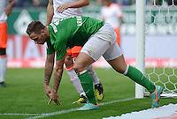 FUSSBALL   1. BUNDESLIGA  SAISON 2012/2013   6. Spieltag  29.09.2012 SV Werder Bremen - FC Bayern Muenchen    Marko Arnautovic (SV Werder Bremen) enttaeuscht