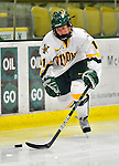 9 October 2009: University of Vermont forward Emily Walsh, a Freshman from Suffield, CT, in action against the Union Dutchwomen at Gutterson Fieldhouse in Burlington, Vermont. The Catamounts shut out the visiting Dutchwomen 2-0 to start off the Cats' 2009 season. Mandatory Credit: Ed Wolfstein Photo