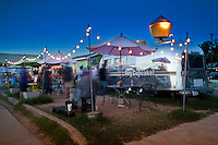 South Congress is an iconic street and host to dozens of food trailers serving exotic cuisine to satisfy the soul