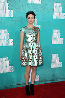 LOS ANGELES - JUN 3:  Crystal Reed arriving at the 2012 MTV Movie Awards at Gibson Ampitheater on June 3, 2012 in Los Angeles, CA