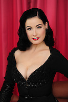 Dita von Teese launches her Wonderbra Party Edition lingerie collection at the Dorchester Hotel today. The burlesque icon revealed the collection inspired by her retro-glamour style, which is now available for the forthcoming party season..