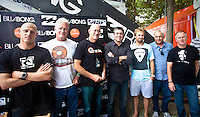 MICK FANNING(AUS), RANDY RARICK (HAW), RICHARD GELLEMAN (AUS) NEIL RIDGWAY (AUS) KIEREN PERROW (AUS) ROD BROOKS (AUS) and GRAHAM STAPELBERG (ZAF)  ASP Surfers, Events and Management Announce Plans for 2010 and Beyond..MUNDAKA, Euskadi/Spain (Saturday, October 10, 2009) - The October 2009 ASP Board of Directors meeting has completed, with all surfers, events and administration uniting to activate landmark improvements that make the ASP World Tour bigger and better for 2010 and beyond....Event No. 8 of 10 on the 2009 ASP World Tour, the Billabong Pro Mundaka optioned to run the man-on-man elimination Round 1 format on the opening day of the waiting period, completing eight heats, before entering it's current holding pattern, and as swell patterns have indicated, the decision to run the condensed format could prove vital... Photo:joliphotos.com
