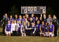 Girls Soccer Regional vs. Muncie Central 10-22-08
