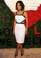 NEW YORK CITY, NY, USA - OCTOBER 16: Halle Berry arrives at the God's Love We Deliver, Golden Heart Awards held at Spring Studios on October 16, 2014 in New York City, New York, United States. (Photo by Celebrity Monitor)
