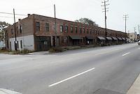 1982 October..Redevelopment.Church Street..SOUTH SIDE CHURCH STREET.NEAR WIDE STREET.HUNTERSVILLE 2....NEG#.NRHA#..