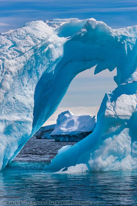 Icebergs near Devil Island, northeast side of the Antarctic peninsula.