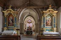 Europe/France/Normandie/Basse-Normandie/50/Manche/Genêts: L'église Notre-Dame. // France, Manche, Genets: The church