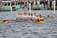 Henley, GREAT BRITAIN,Tideway Scullers school row past, 2008 Henley Royal Regatta  on Saturday, 05/07/2008,  Henley on Thames. ENGLAND. [Mandatory Credit:  Peter SPURRIER / Intersport Images] Rowing Courses, Henley Reach, Henley, ENGLAND . HRR