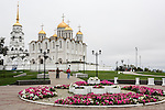 The Assumption Cathedral on Saturday, August 24, 2013 in Vladimir, Russia.