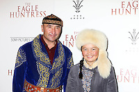 "LOS ANGELES, CA - OCTOBER 18: Nurgaiv Rys, Aisholpan Nurgaiv at the ""The Eagle Huntress"" Premiere at the Pacific Theaters at the Grove, Los Angeles, California on October 18, 2016.  Credit: David Edwards/MediaPunch"