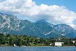 Villa Melzi of Bellagio, Italy on Lake Como
