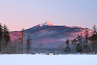 Chocorua Alpenglow with Old Bridge in midground