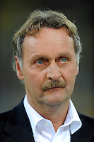Fussball, 2. Bundesliga, Saison 2011/12, SG Dynamo Dresden - Vfl Bochum, Montag (12.09.11), gluecksgas Stadion, Dresden. Sport1 Experte Peter Neururer.