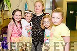 SCHOOL FUN: Pupils preparing for the Presentation Primary school play on Tuesday are Rachel Prendiville, Ella O'Donoghue, Dominika Czyekiewicz, Wiktoria Malachowska, Grainne Breen