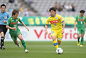 Masaki Miyasaka (Montedio), APRIL 30, 2012 - Football : 2012 J.LEAGUE Division 2 between Tokyo Verdy 0-2 Montedio Yamagata at Ajinomoto Stadium, Tokyo, Japan. (Photo by Atsushi Tomura /AFLO SPORT) [1035]