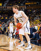 The University of Michigan men's basketball team beat Saginaw Valley State University, 76-48, in exhibition play at Crisler Arena on November 5, 2012.