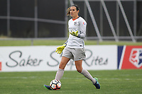 Piscataway, NJ - Saturday May 20, 2017: Lydia Williams during a regular season National Women's Soccer League (NWSL) match between Sky Blue FC and the Houston Dash at Yurcak Field.  Sky Blue defeated Houston, 2-1.