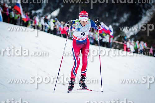 Heidi Weng (NOR) during Ladies 1.2 km Free Sprint Qualification race at FIS Cross<br /> Country World Cup Planica 2016, on January 16, 2016 at Planica,Slovenia. Photo by Ziga Zupan / Sportida