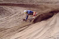 Motocross Rider racing in Motorcross Race, Fraser Valley, BC, British Columbia, Canada