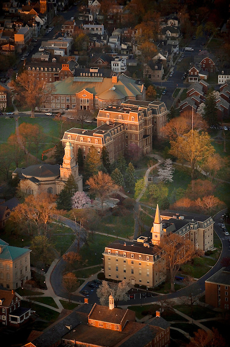 Aerial photos of Lafayette Campus and The Quad taken over 3 days..4266
