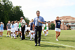 30 August 2009: North Carolina head coach Anson Dorrance. The University of North Carolina Tar Heels defeated the University of North Carolina Greensboro Spartans 1-0 at Fetzer Field in Chapel Hill, North Carolina in an NCAA Division I Women's college soccer game.