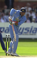.13/07/2002.Sport - Cricket -NatWest Series Final- Lords.England vs India.Sourav Ganguly .