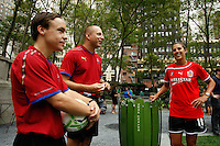 WPS Soccer Clinic Bryant Park August 25 2011