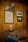 Ron Grassi in his Tahoe City, Calif. home May 13, 2010. Grassi is suing the big three ratings agencies after he lost $40,000 on a Lehman Brothers bond.