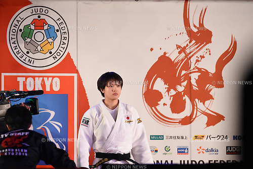 Chizuru Arai (JPN), <br /> DECEMBER 5, 2015 - Judo : <br /> IJF Grand Slam Tokyo 2015 International Judo Tournament <br /> Women's -70kg final <br /> at Tokyo Metropolitan Gymnasium, Tokyo, Japan. <br /> (Photo by AFLO SPORT)