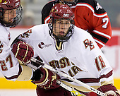 Andrew Orpik (BC 27), Kyle Kucharski (BC 18) - The Boston College Eagles defeated the Rensselaer Polytechnic Institute Engineers 4-1 in the consolation game of the Ice Breaker Tournament on Saturday, October 13, 2007, at the Xcel Energy Center in St. Paul, Minnesota.